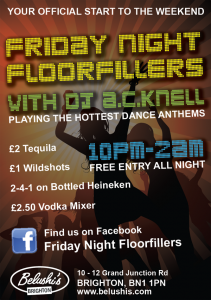 Friday Night Floorfillers