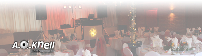 Wedding Reception photos header