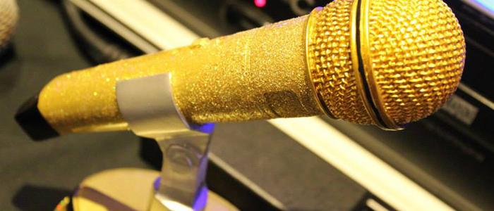 Karaoke Trophy award