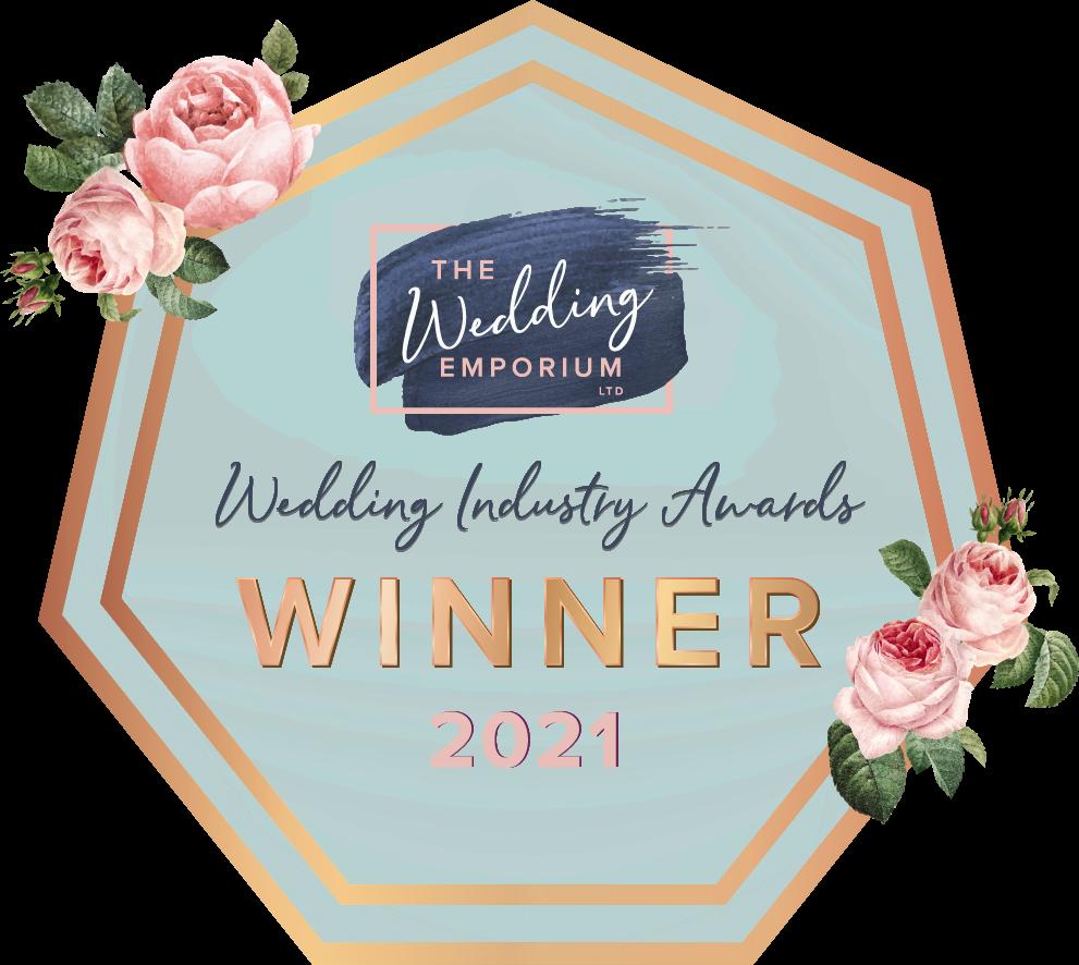 The Wedding Emporium Business Awards Winner 2021